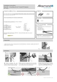 Instructions manual Rayvolt grounding clip (EN)